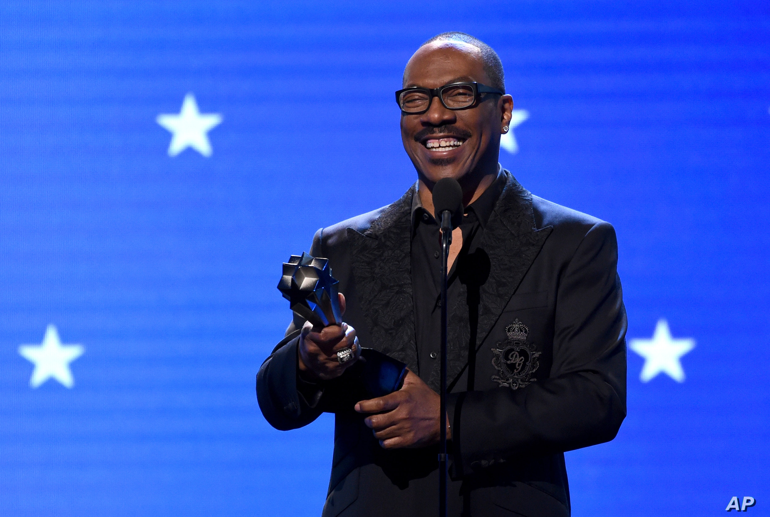 WATCH: Actor-Comedian Eddie Murphy inducted into NAACP Image Awards Hall of Fame
