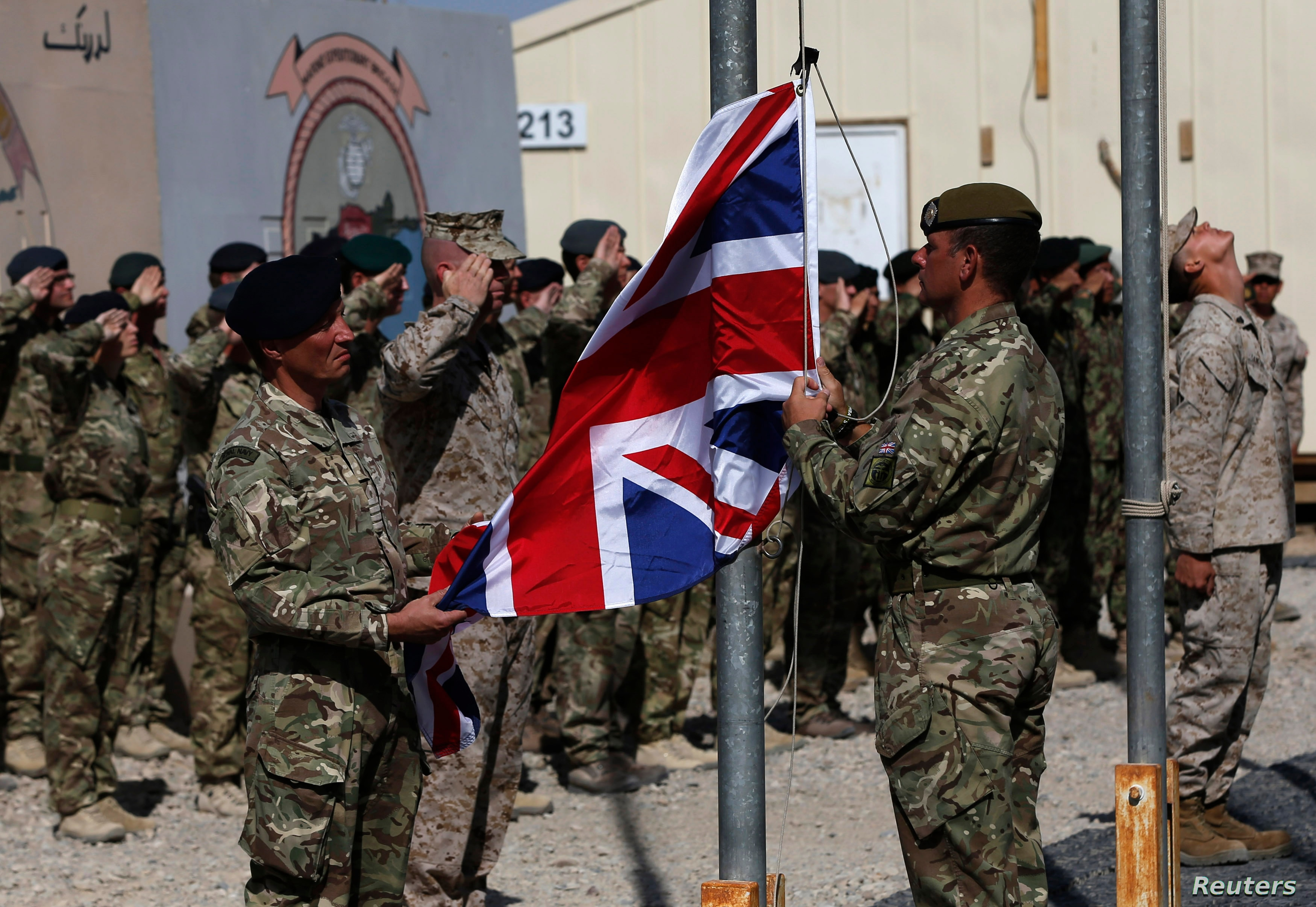 Britain Confirms Most UK Troops Have Left Afghanistan | Voice of America -  English