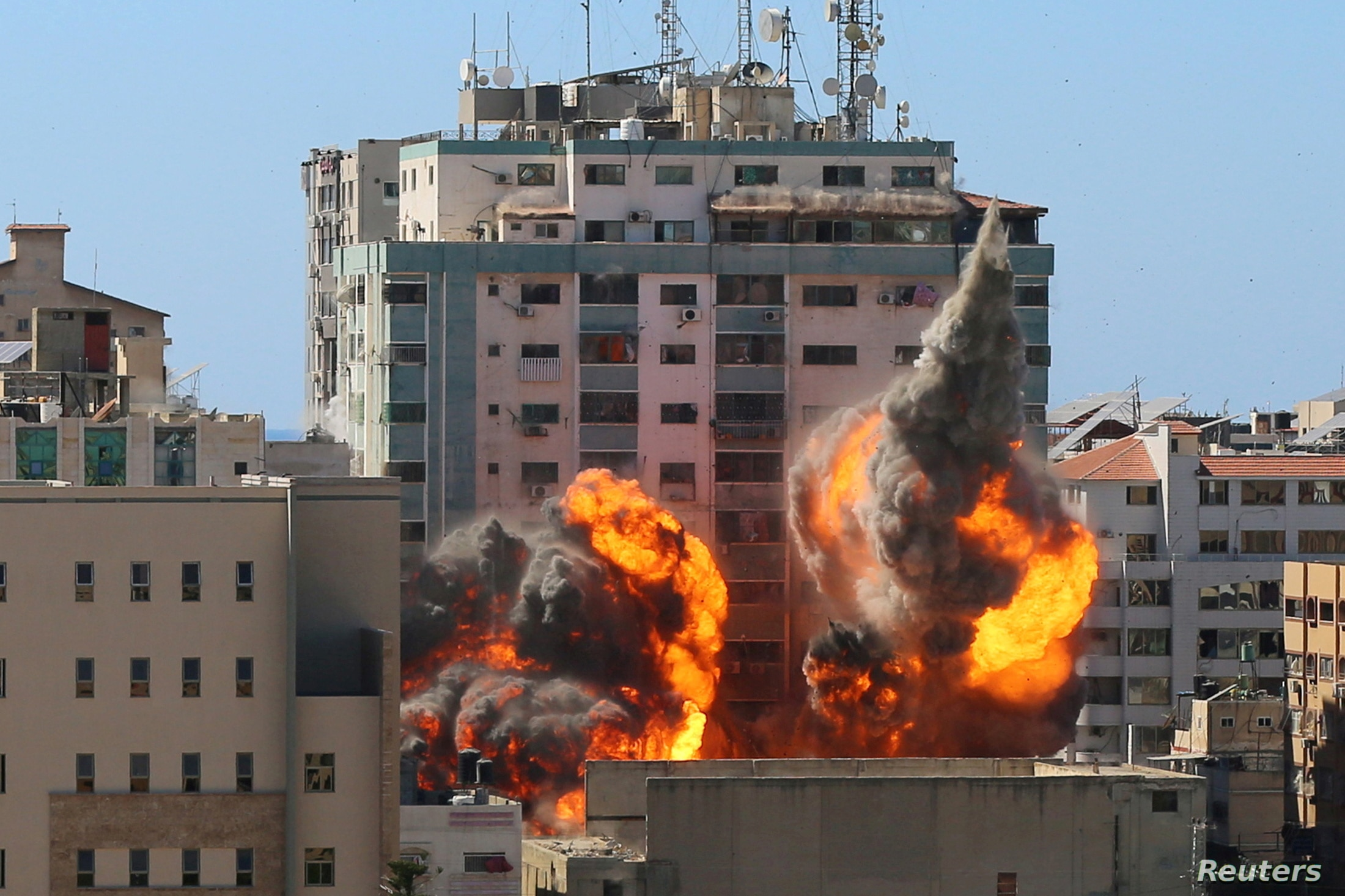 Reporters Without Borders Asks ICC to Investigate Israel's Bombing of Building Housing AP Journalists