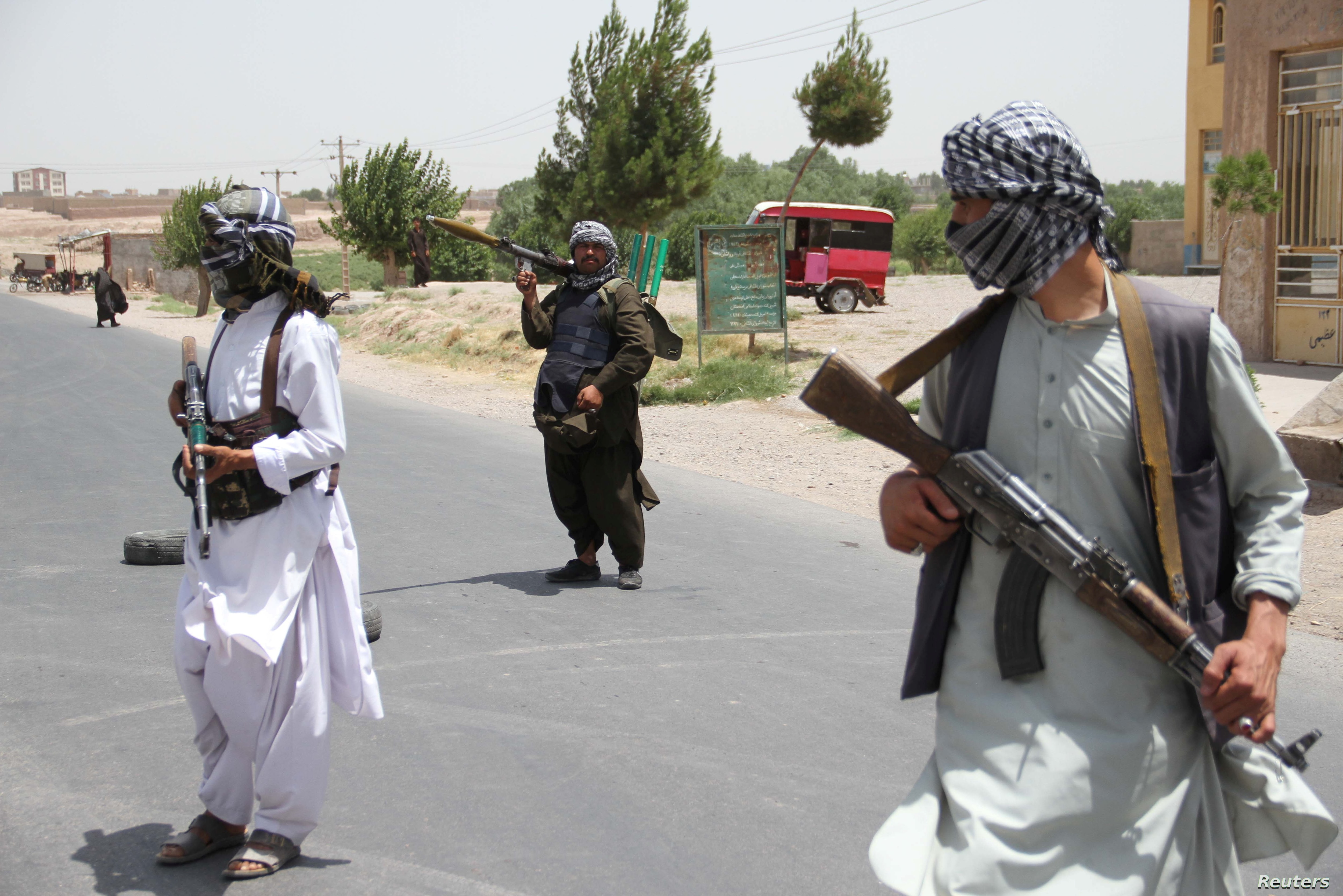 Pentagon Us Concerned About Taliban Advances As American Troops Withdraw Voice Of America English
