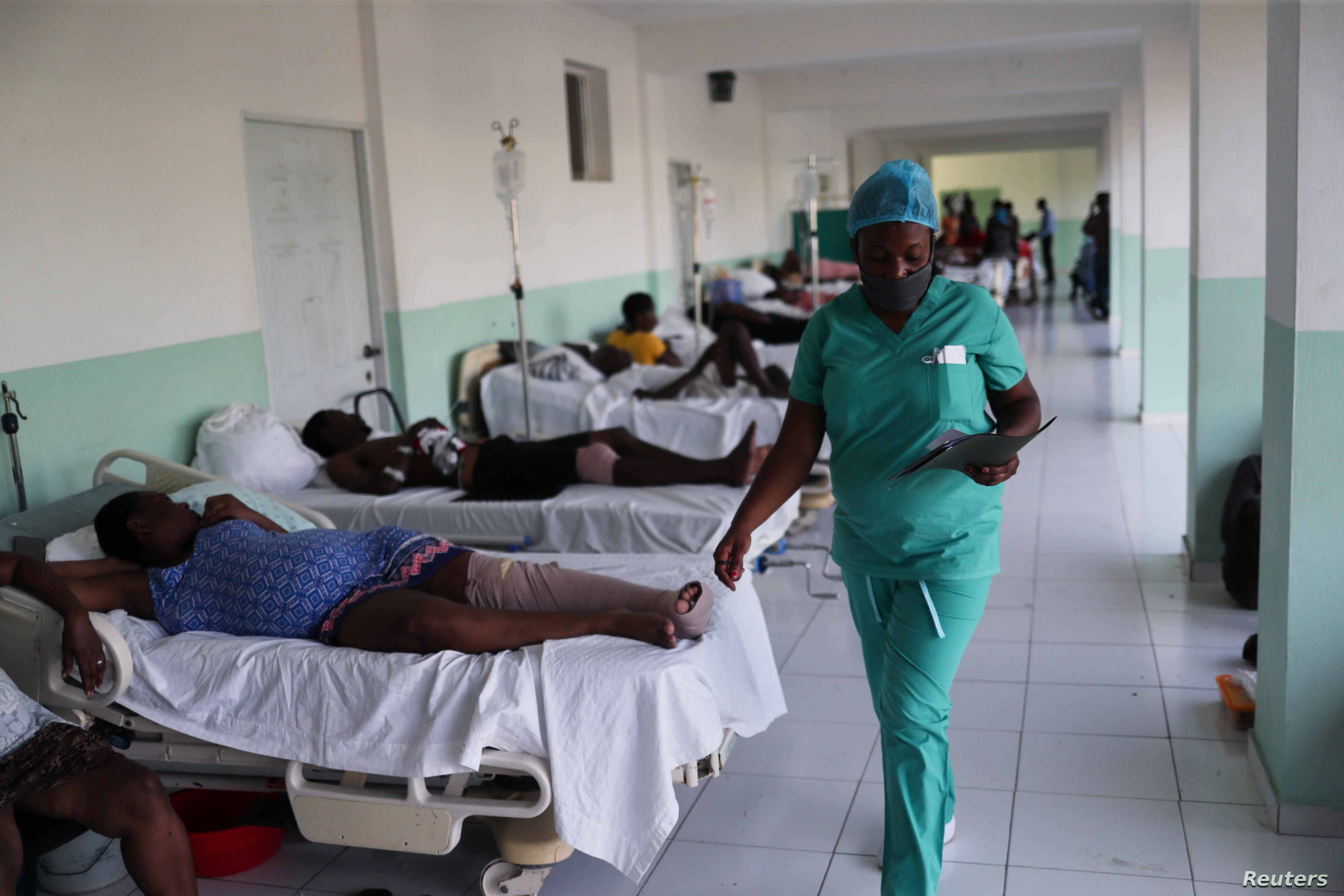 Frustration After Haiti Earthquake, Pressure For Aid Increased