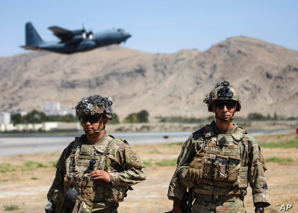 News • US Paratroopers join the Evacuation Operation in Kabul, Afghanistan Today