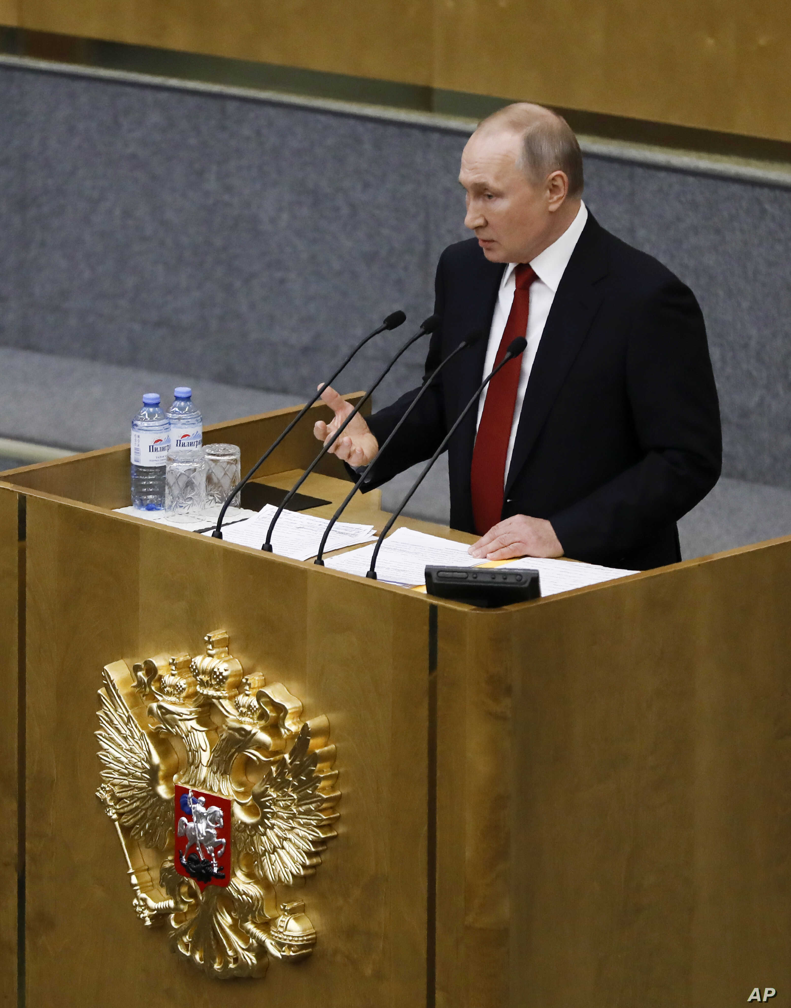Russia S Putin Hints At New Path To Staying In Power Voice Of America English
