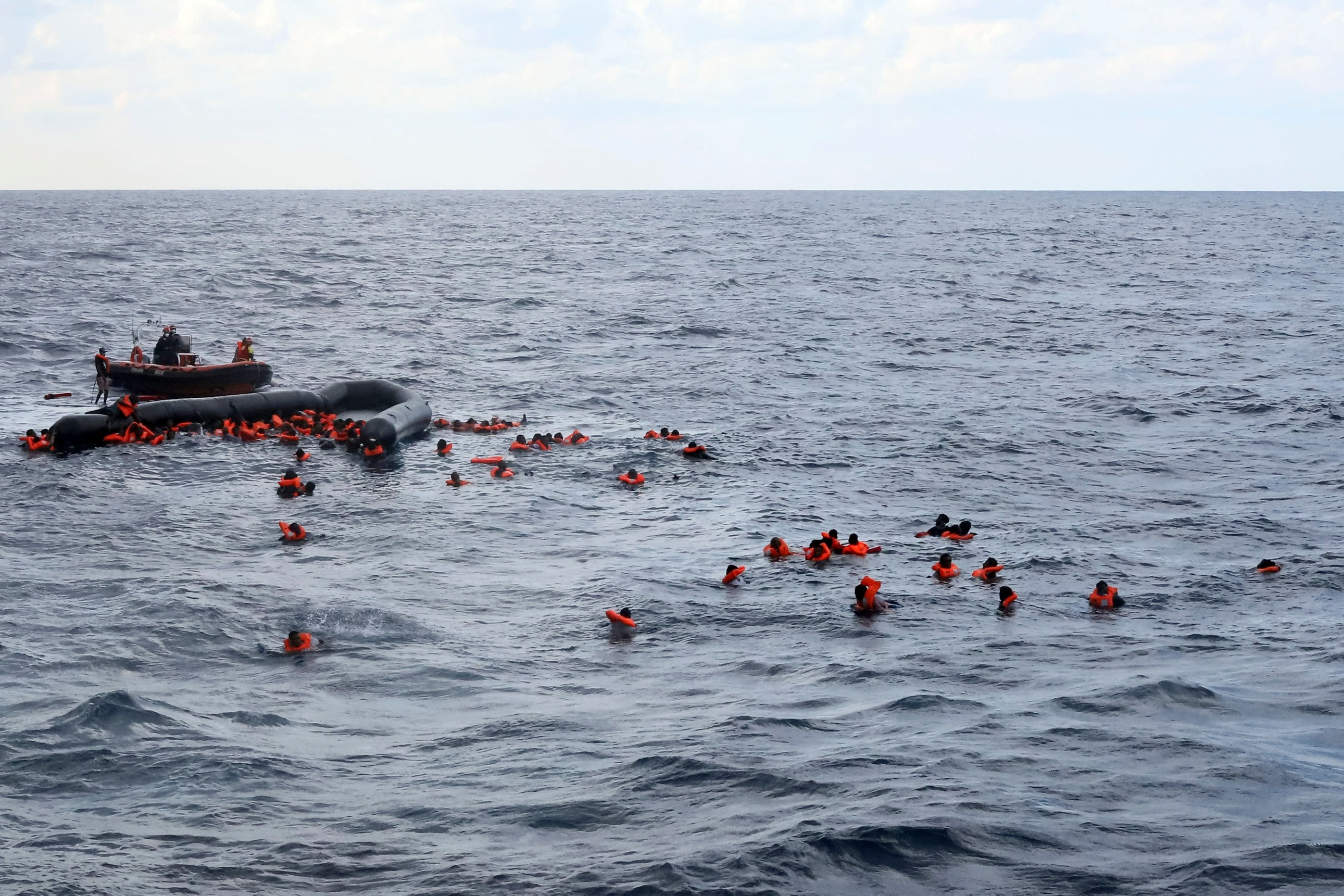 At least 74 migrants drown in Mediterranean off Libyan coast, United Nations says