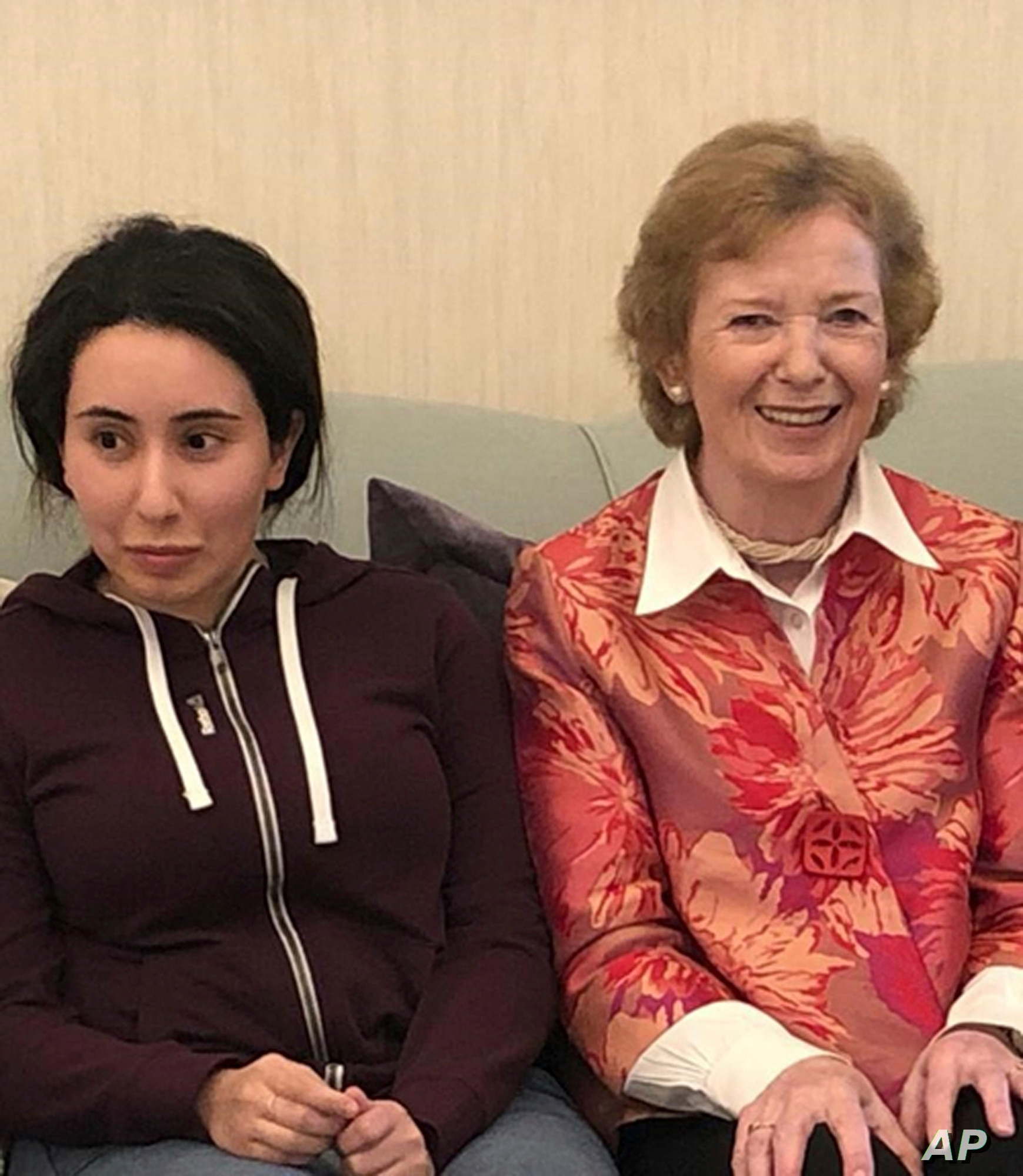 Mary Robinson claims she was 'horribly tricked' over Dubai princess