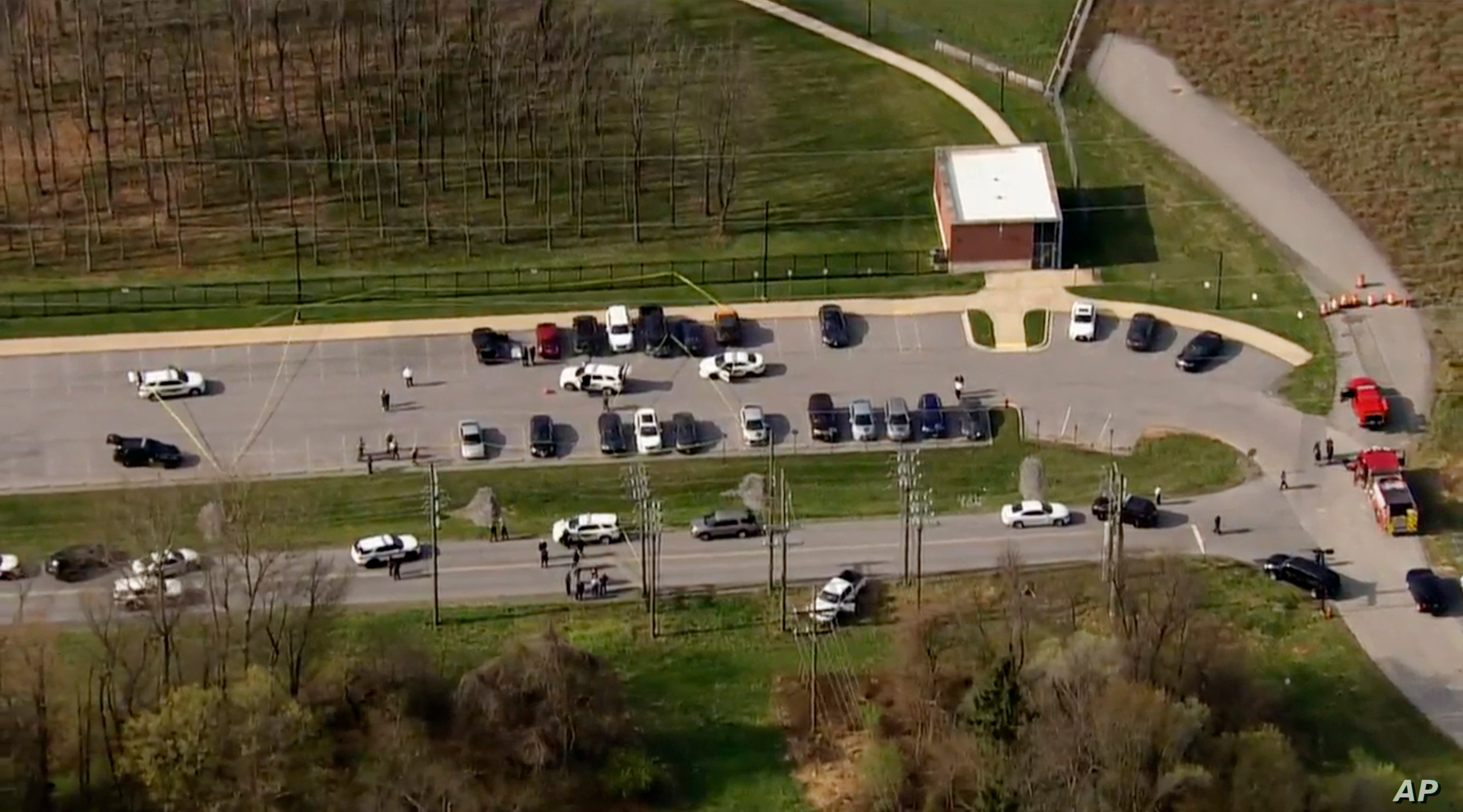 Maryland active shooter investigation: At least 2 injured, 'suspect down,' police say