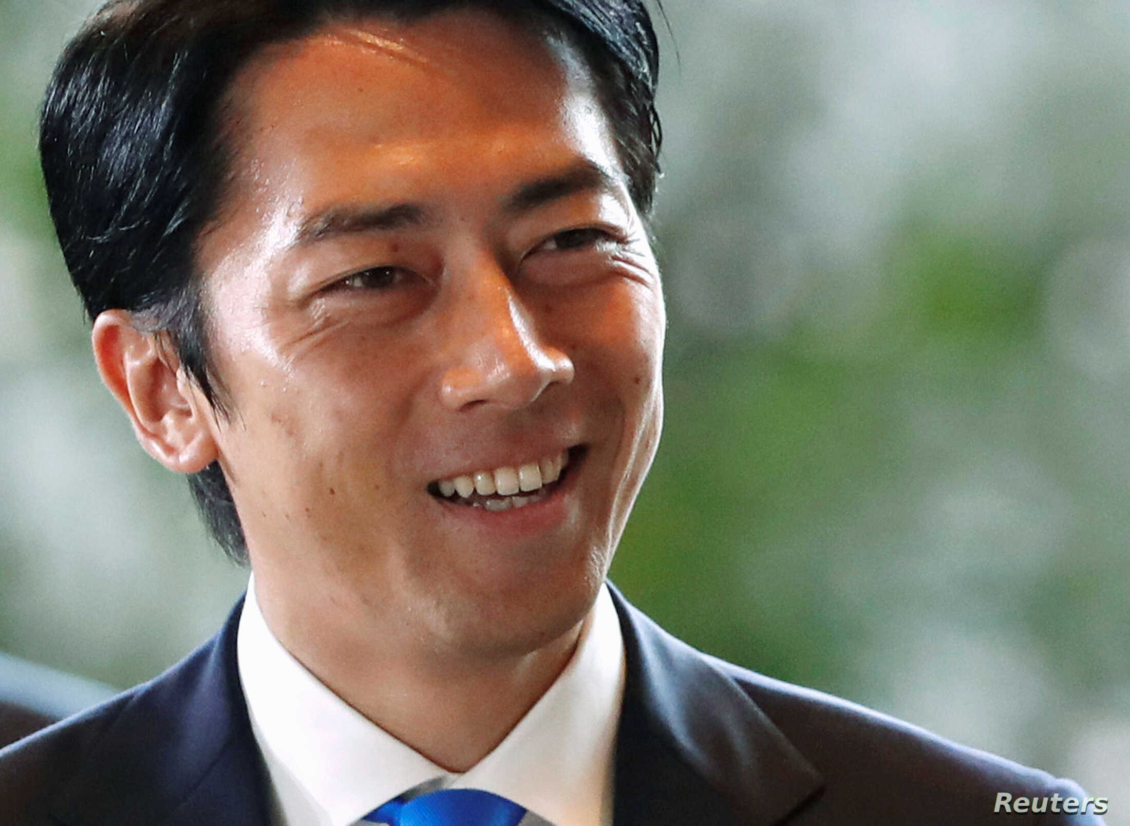 It S A Boy Paternity Leave Looms For Japanese Minister Koizumi Voice Of America English