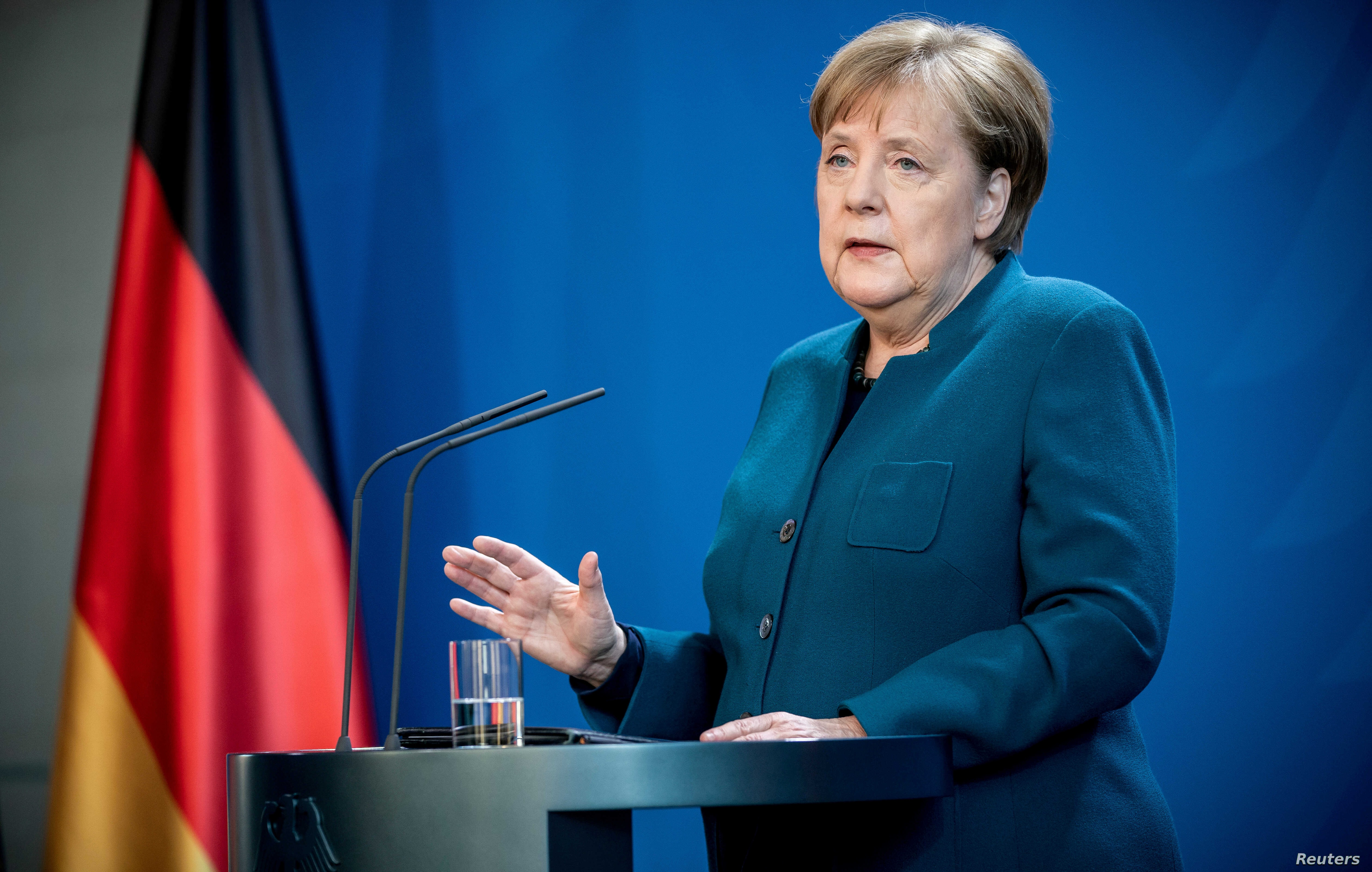 Germany S Merkel Shines In Virus Crisis Even As Power Wanes Voice Of America English