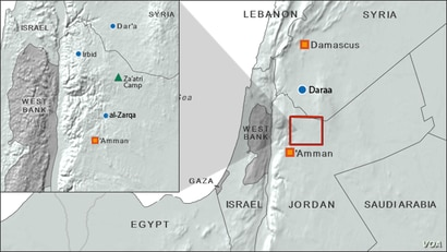 mid-east map
