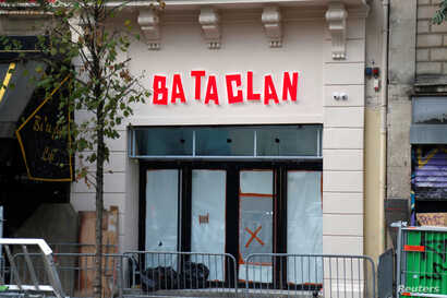Paris Bataclan concert hall reopening