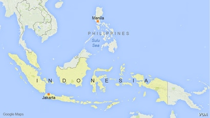 Indonesia, The Philippines, and the Sulu Sea