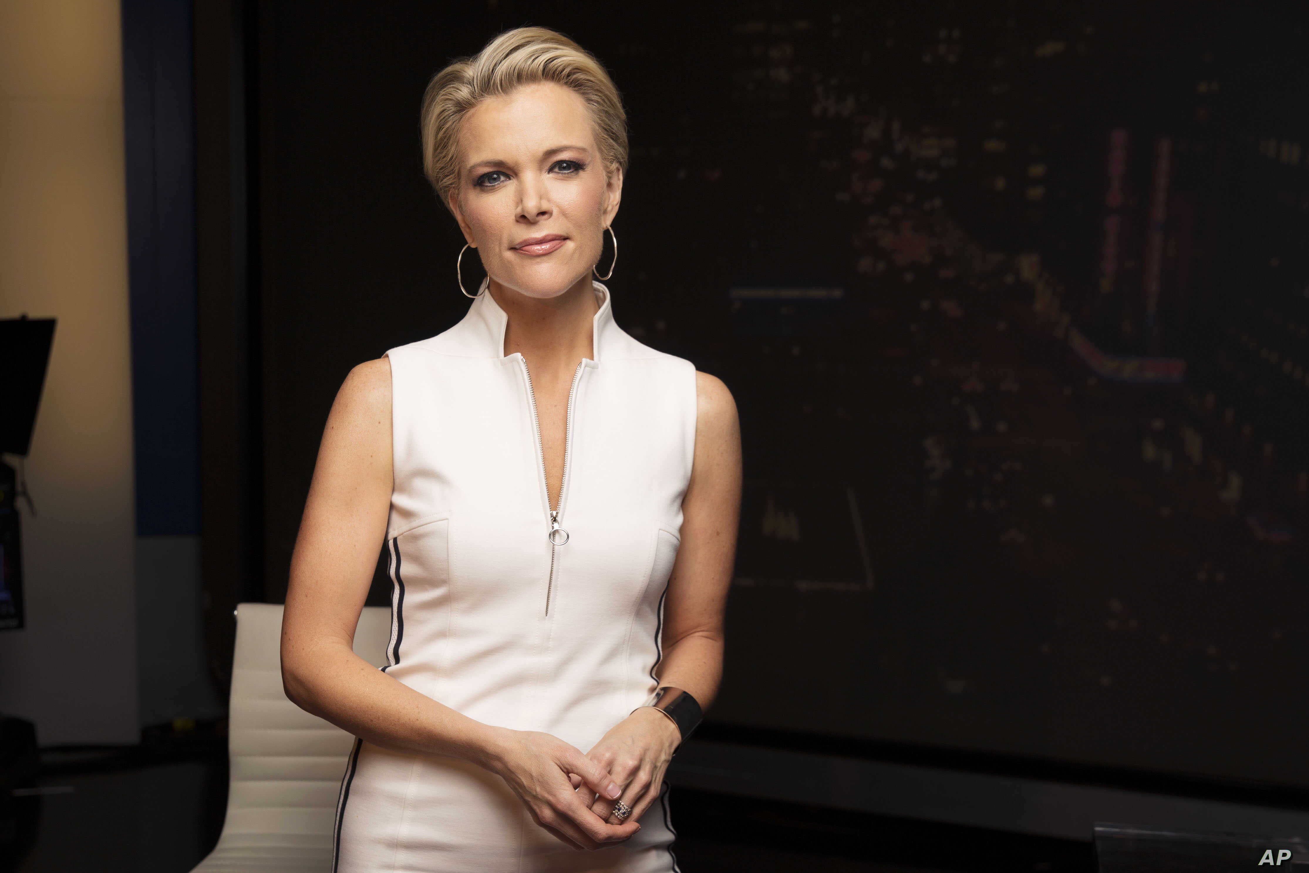 Megyn Kelly poses for a portrait in New York, May 5, 2016.