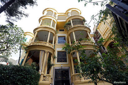 A view of an old heritage building in Beirut, Lebanon, Jan. 28, 2018.