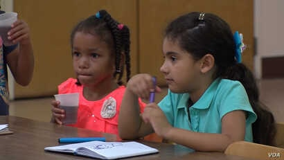 Children at the Hazleton Integration Project (HIP)—an after school care program in Hazleton, PA that serves more than 1000 children weekly. Many of the children attending classes at HIP are first or second generation Americans.