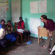 Population Council researcher Karen Austrian is developing ways for adolescent girls to gain financial literacy and save money, in cooperation with Kenyan and Ugandan financial institutions and girls' programs