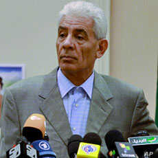 Libya's FM Moussa Koussa holds a news conference in Tripoli Mar 18 2011