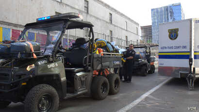 First responder say treating injured people quickly makes a difference. The Polaris Ranger is a way for medics to treat patients on-site. It also allows them to quickly transport patients away from a crowded environment to an ambulance waiting nearby...