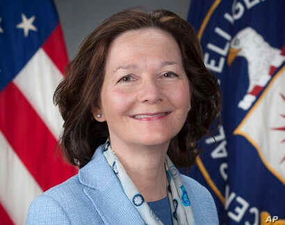FILE - Photo provided by the CIA shows CIA Deputy Director Gina Haspel, March 21, 2017.