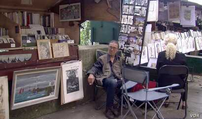 Bouquiniste David Nosek is among those supporting the bid to be added to UNESCO's Intangible Cultural Heritage list.