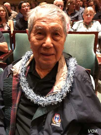 "World War II veteran Ted Tsukiyama was honored at the world premiere of ""Go For Broke"" at the Hawaii International Film Festival. One of the characters in the film is based on his life."