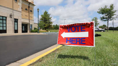 Polls for the Republican and Democratic primaries were open until 7 pm in Kansas.