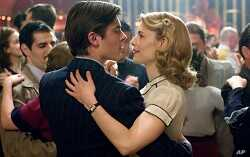 Zac Efron and Claire Danes in scene from 'Me And Orson Welles'