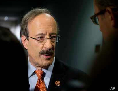FILE - Congressman Eliot Engel, the ranking Democrat on the House Foreign Affairs Committee.