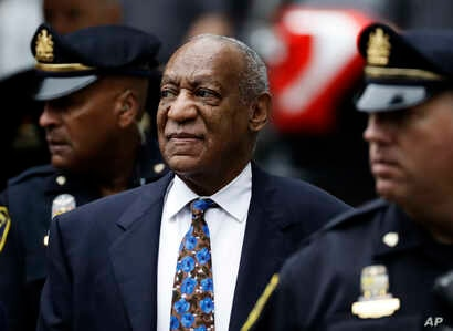 Bill Cosby arrives for his sentencing hearing at the Montgomery County Courthouse, Sept. 24, 2018, in Norristown, Pennsylvania.