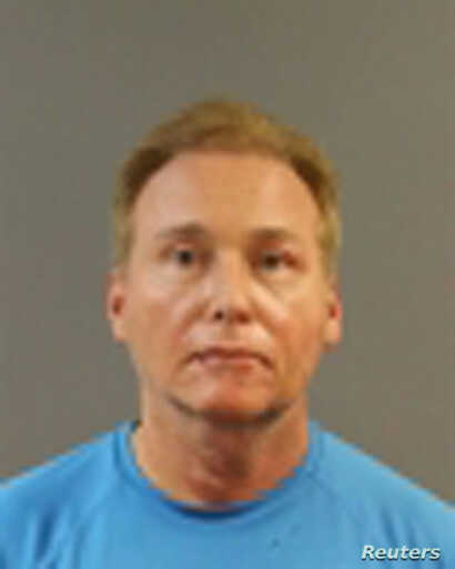 Rene Boucher, 59, of Bowling Green, who Kentucky State Police say assaulted U.S. Senator Rand Paul at his residence, is seen in this Warren County Detention Center photo, in Bowling Green, Ky., Nov. 3, 2017.