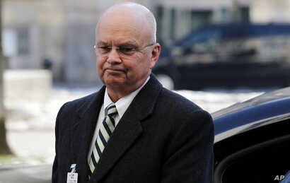 FILE - Former CIA Director  Michael Hayden arrives at the Munich Security Conference , Friday Feb. 3, 2012.