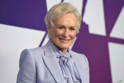 Glenn Close arrives at the 91st Academy Awards Nominees Luncheon on Feb. 4, 2019, at The Beverly Hilton Hotel in Beverly Hills, Calif.