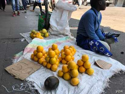 Vendors in Harare say they not leave their business as they have no other sources of income with Zimbabwe's unemployment rate said to be around 85 percent.