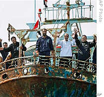 The Nile supports Egypt's vital fishing industry