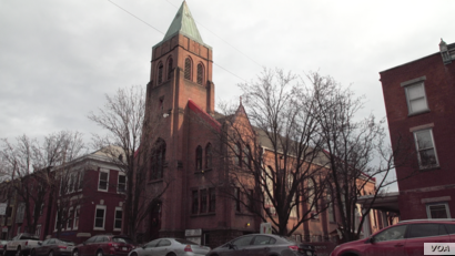 "St. Francis of Assisi Catholic Church is located in Harrisburg's Allison Hill neighborhood, where a number of ICE arrests reportedly have taken place. ""People are afraid to go to the store or even come to church,"" says Father Orlando Reyes."