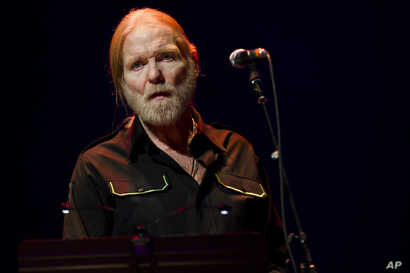 Greg Allman performs at Eric Clapton's Crossroads Guitar Festival 2013 at Madison Square Garden on April 13, 2013 in New York.