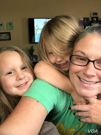 Carli Leon, an Ohio mother of two, was once an active member in the anti-vaccine community. (Photo courtesy of Carli Leon)