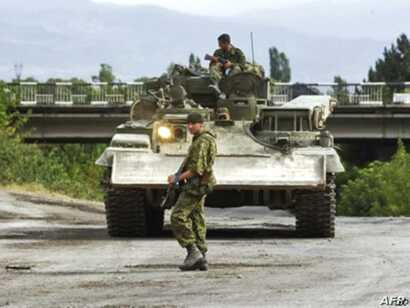 FILE - Russia's five-day war with Georgia in 2008 highlighted some significant weakness in Moscow's armed forces.