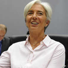 French Economy and Finance Minister Christine Lagarde (file)