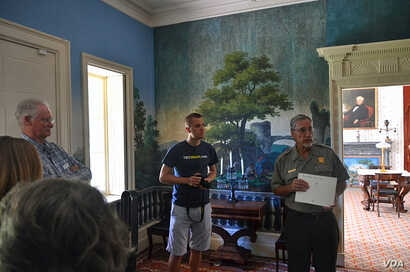 Mikah takes a ranger-led tour of President Van Buren's Lindenwald house. The mansion is also where Van Buren managed two presidential campaigns and entertained politicians and celebrities during the turbulent 1840s and 1850s.
