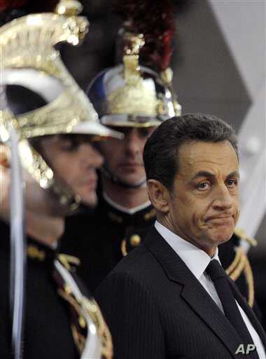 French President Nicolas Sarkozy. Development experts had expected France, as G20 chair this year, to focus on support for the developing world.