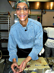 """""""I bet there's going to be more American dishes that will be inspired by chocolate,"""" Carla Hall, professional chef"""