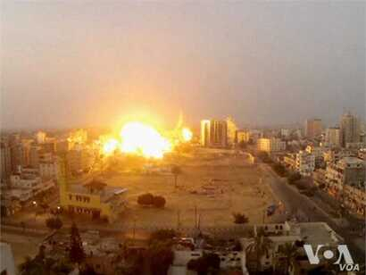 Video of Israel's offensive in Gaza