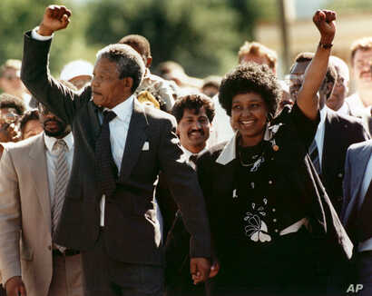 Mandela-Nelson and Winnie