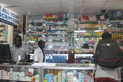 Most TB patients who exhibit TB symptoms such as dry coughs usually buy medicines  at a local chemist, like the one in the picture. Early diagnosis is important in treating most TB cases. And few Chemists stock TB drugs because they are readily avail...