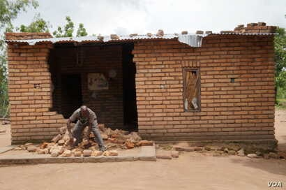 Traditional leader Jameson Maideni says the mob ransacked his house.