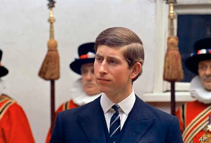 FILE - Prince Charles is seen in London, in a March 25, 1968, photo.