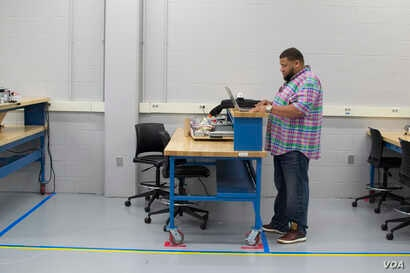 Toledo-native manufacturing worker Marcus Odoms recently graduated from Northwest State Community College's Industrial Automation Certificate Program. He says the decision will mean less strain on his body and more take-home pay for his family at a...