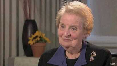 Former Secretary of State Albright Addresses Obama's Foreign Policy