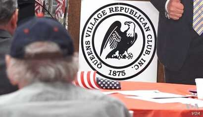 Queens Village is one of America's oldest Republican clubs, founded in 1875.