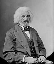 Frederick Douglass, once an escaped slave, became one of the most riveting speakers against slavery in the South.